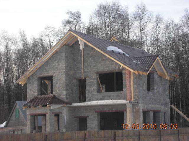 Дома из керамзитобетонных блоков своими руками фото